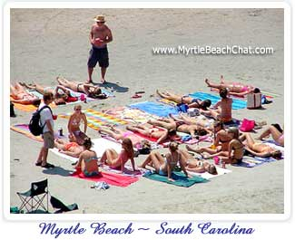 Myrtle Beach message and discussion board with live chat room